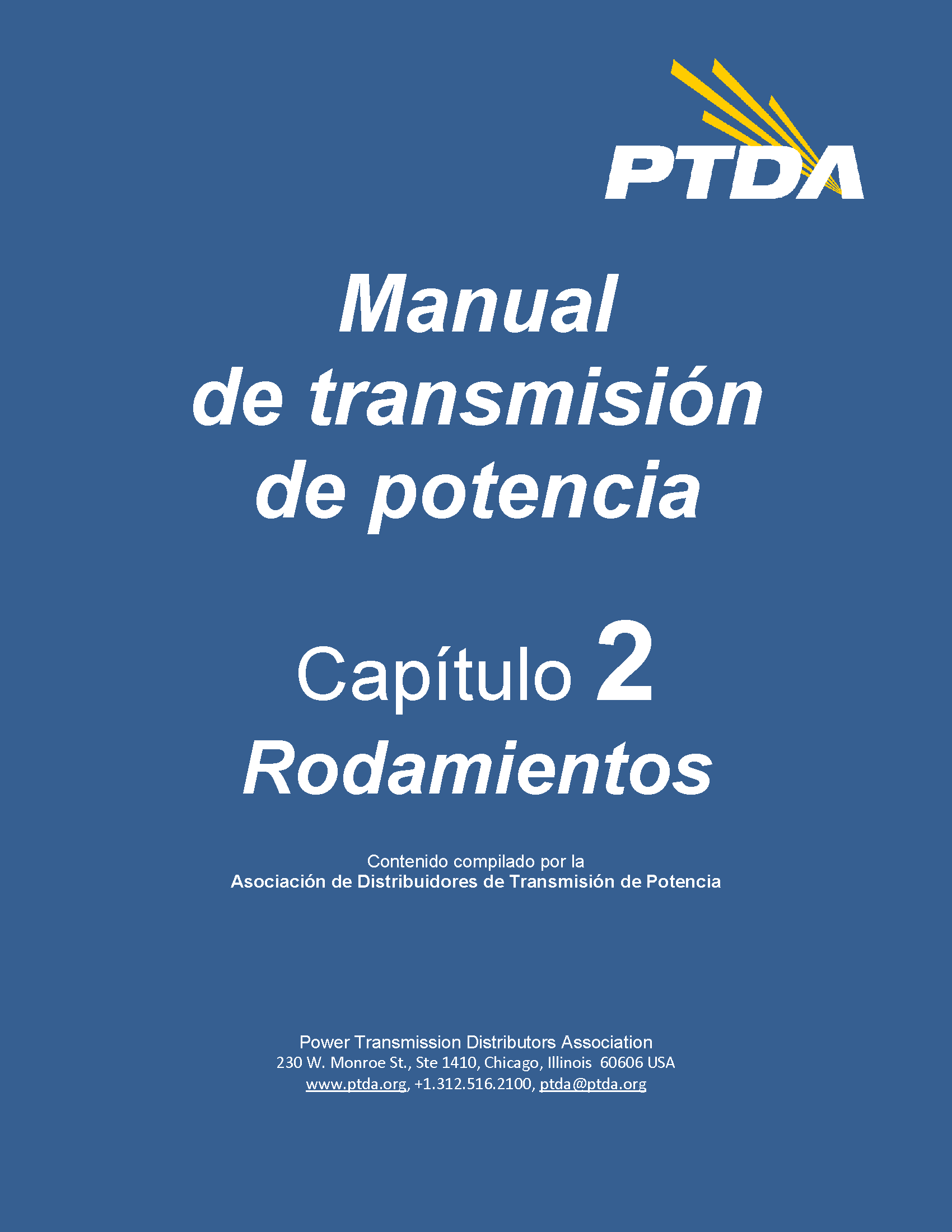 Power Transmission Handbook - Bearings Chapter Spanish